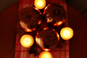 DIY Autumn Scented Candles