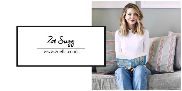 Zoe Sugg title